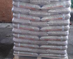 Le granulés de bois en Sac - Par palette de 65 sacs de 15 Kg - Tarif sur place